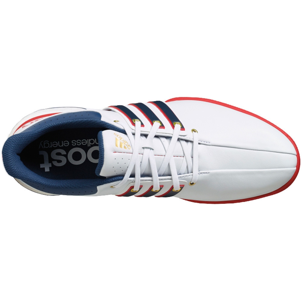 Adidas Tour 360 Boost USA FTWR WhiteMineral BlueScarlet