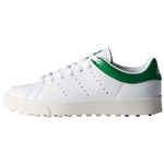 Adidas Junior Adicross Classic Cloud White/Cloud White/Green - Only Available in Medium - Youth 4
