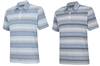 Adidas Men's Climalite Heathered Ombre Stripe Polo 2-Pack