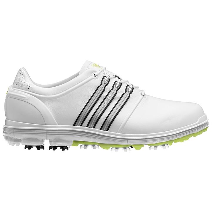 Adidas Men's Pure 360 White/Metallic Silver/Slime