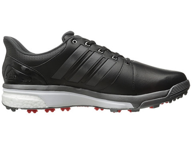 ab950c7bf66f Adidas Adipower Boost 2 Core Black Dark Silver Metallics Red