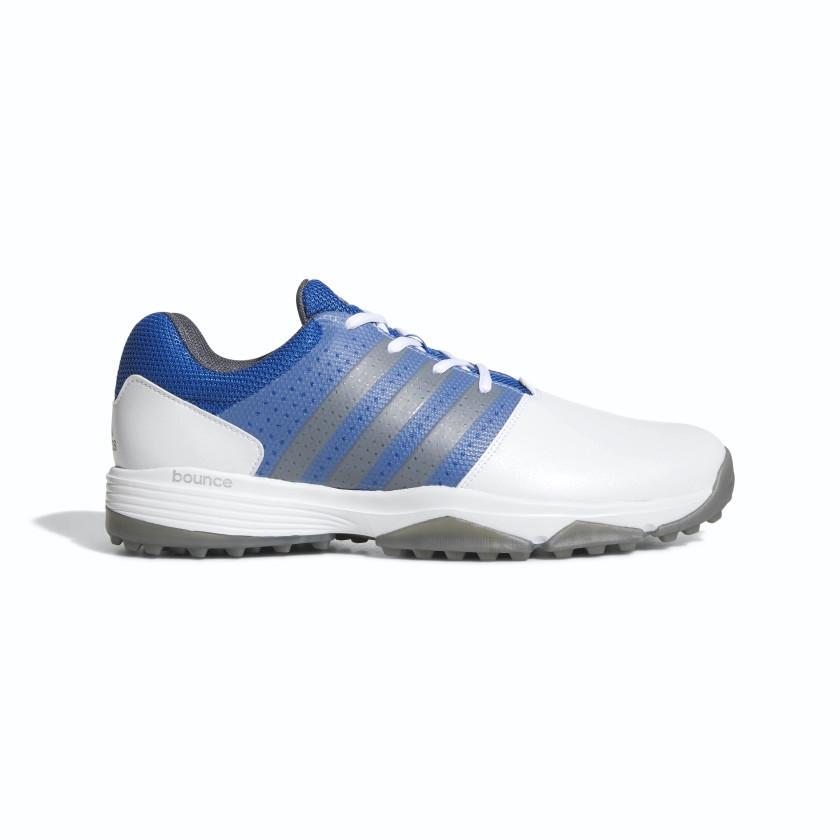 Adidas 360 Traxion Cloud White/Dark Silver Metallic/Blue