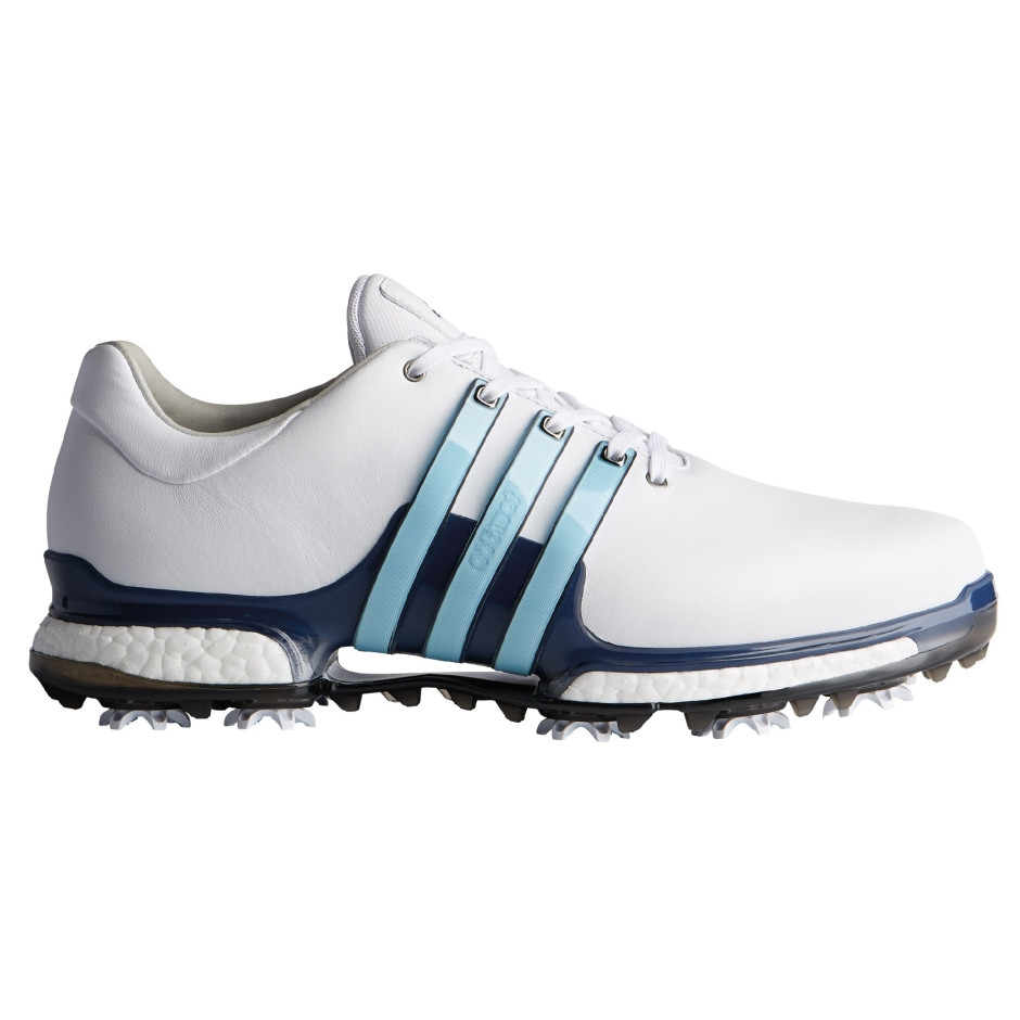 Adidas Tour 360 Boost 2.0 White/Mystery Blue/Icy Blue