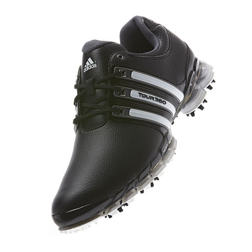 5e3303428a3220 Adidas Tour 360 ATV M1 Black Running White Dark Metallic Silver