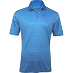 Ashworth EZ-TEC2 Performance Shadow Stripe Polo Iceberg