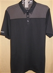 Ashworth Performance EZ-SOF Cut and Sew Polo Black