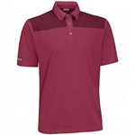 Ashworth Performance EZ-SOF Cut and Sew Polo Burgundy
