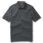 Ashworth Performance Interlock Melange Polo Dark Grey