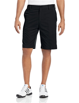 Adidas Men's Flat Front Shorts Black/Lead