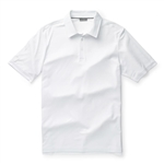 Ashworth Performance Interlock Melange Polo White