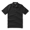 Ashworth Performance EZ-SOF 2-Color Stripe Polo Black/Dark Grey