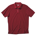 Ashworth Performance EZ-SOF Microstripe Polo Dark Grey/Rumba Red