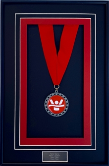 Finishing Medal Displays