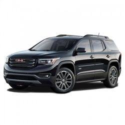 GMC Acadia Painted Side Body Moldings with Chrome Inserts
