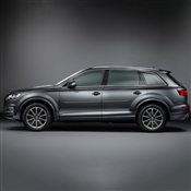 Audi Q7 Painted Side Molding Reduce Door Dings