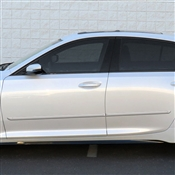 Cadillac CT4 (2 Door) Painted Side Body Moldings with Chrome Inserts