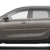 Kia Sorento Painted Side Molding Reduce Door Dings