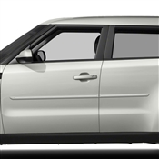 Kia Soul Body Side Molding with Chrome Insert