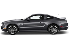 Ford Mustang Painted Side Molding Reduce Door Dings