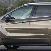 Buick Envision Painted Side Body Moldings with Chrome Inserts