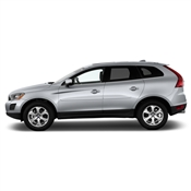 Volvo XC60 Painted Side Body Moldings with Chrome Inserts
