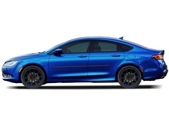Chrysler 200 Painted Side Molding Reduce Door Dings