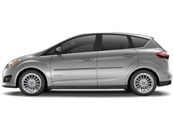Ford C-Max Painted Side Molding Reduce Door Dings