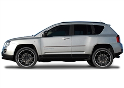 Jeep Compass Painted Side Molding Reduce Door Dings