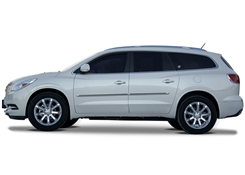 Buick Enclave Painted Side Molding Reduce Door Dings