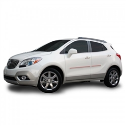 Buick Encore Painted Side Molding Reduce Door Dings