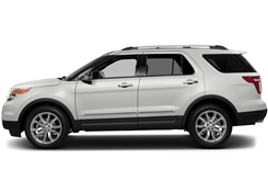 Ford Explorer Painted Side Molding Reduce Door Dings