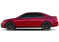 Lincoln MKZ Painted Side Molding Reduce Door Dings