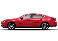 Mazda Mazda6 Painted Side Molding Reduce Door Dings
