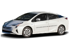 Toyota Prius Painted Side Molding Reduce Door Dings
