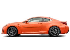 Lexus RC Painted Side Molding Reduce Door Dings