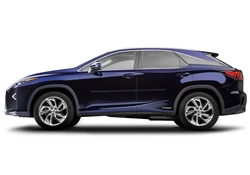 Lexus RX Painted Side Molding Reduce Door Dings