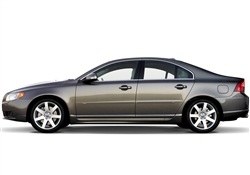 Volvo S80 Painted Side Molding Reduce Door Dings