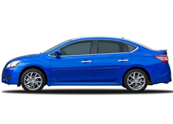 Nissan Sentra Painted Side Molding Reduce Door Dings