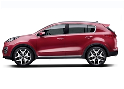 Kia Sportage Painted Side Molding Reduce Door Dings