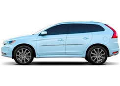 Volvo XC60 Painted Side Molding Reduce Door Dings