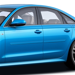 Audi A6 Painted Side Molding Reduce Door Dings