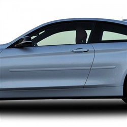 BMW 4-Series Painted Side Molding Reduce Door Dings