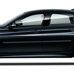BMW 4-Series Gran Coupe 4 Door Painted Side Molding Reduce Door Dings