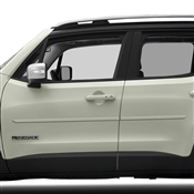 Jeep Renegade Painted Side Molding Reduce Door Dings