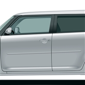 Scion xB Side Body Molding