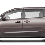 Kia Sedona Painted Side Molding Reduce Door Dings