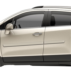 Chevrolet Trax Painted Side Molding Reduce Door Dings