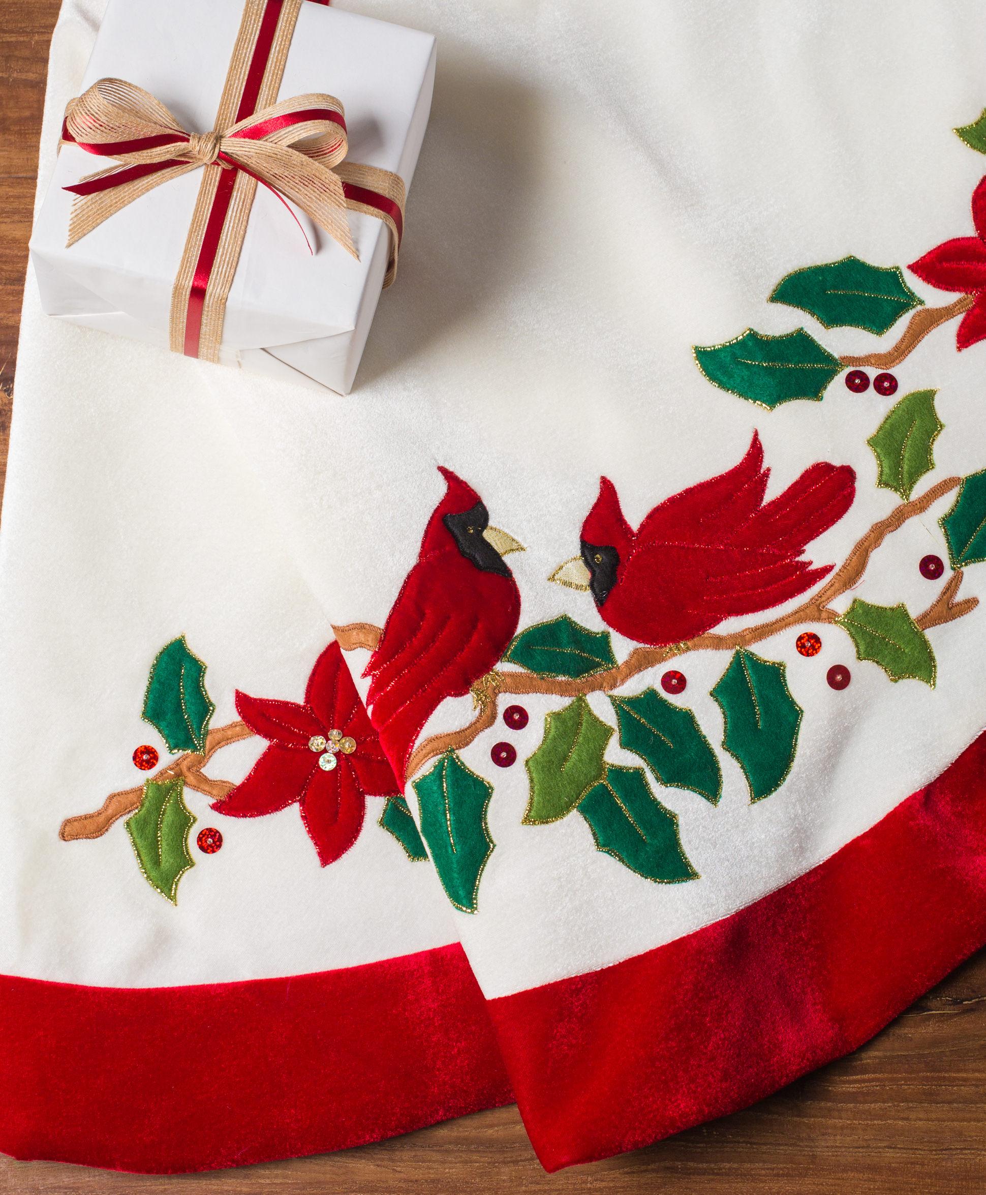 Cardinal Tree Skirt 101