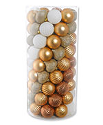Champagne Christmas Ornament Kit