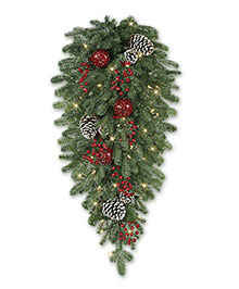 Alpine Grand Fir Artificial Christmas Teardrop